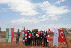 TİKA'dan Somaliland Köylerine Su Havuzu Projesi