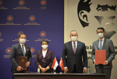 TİKA ve Endonezya Dışişleri Bakanlığı Arasında İş Birliği
