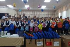 TİKA'dan Özbekistan'ın Kuzeyinde Bulunan Karakalpakistan Cumhuriyetinde Eğitime Destek