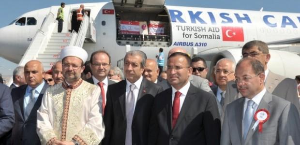 Türk Uçakları Somali'ye Yardım Taşıyor  - 1