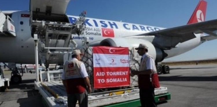 Üçüncü Yardım Uçağı Somali İçin Yola Çıktı