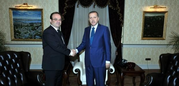 Başbakan Erdoğan TİKA Başkanı Dr. Serdar Çam'ı Kabul Etti  - 1