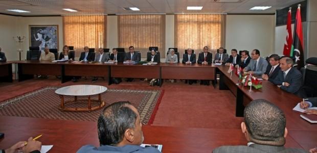 Dışişleri Bakanı Ahmet Davutoğlu Libya'ya Gitti   - 2