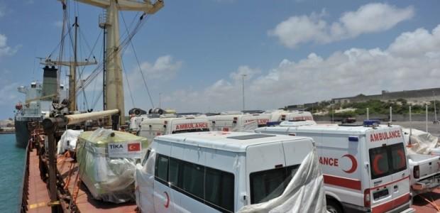 """""""İyilik"""" Mogadişu Limanına Demir Attı  - 2"""