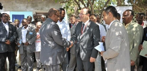 Somali Cumhurbaşkanı ve Somali Başbakanı  Türkiye'den Giden Heyeti Kabul Etti  - 2