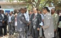 Somali Cumhurbaşkanı ve Somali Başbakanı  Türkiye'den Giden Heyeti Kabul Etti