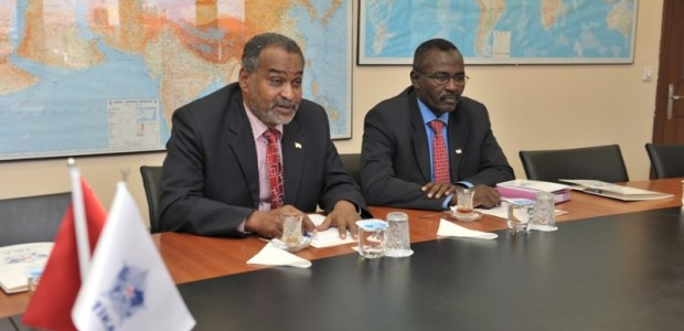 Sudan Başkonsolosu TİKA'da  - 1