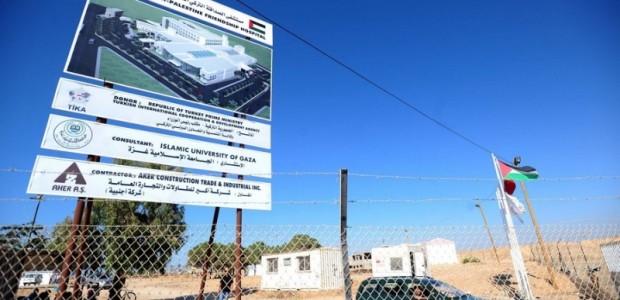 Filistin-Türkiye Dostluk Hastanesi TİKA Tarafından Gazze'de Kuruluyor  - 6