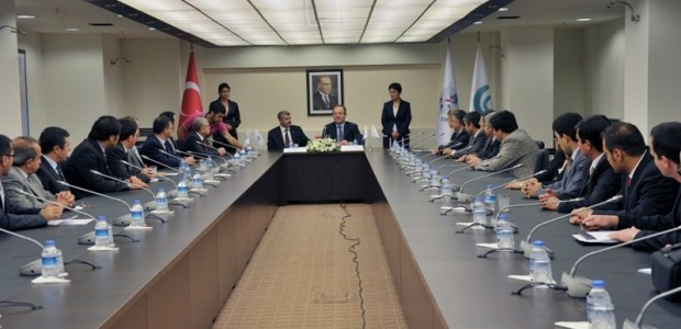 TİKA ile Yunus Emre Enstitüsü Arasında Türkoloji Projesinin Devrine İlişkin Protokol İmzalandı  - 4