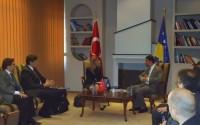 TİKA'dan Kosova Cumhuriyeti Kültür Bakanlığı'na Ziyaret