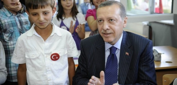 Başbakan Erdoğan Makedonya'da Donanımı TİKA Tarafından Tamamlanan Türk Okulunun Açılışını Yaptı  - 4