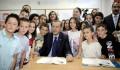 Başbakan Erdoğan Makedonya'da Donanımı TİKA Tarafından Tamamlanan Türk Okulunun Açılışını Yaptı  - 3