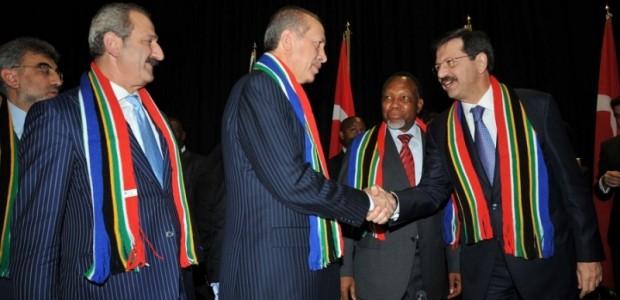 Başbakan Erdoğan Güney Afrika'da  - 2