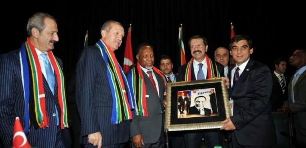 Başbakan Erdoğan Güney Afrika'da  - 1