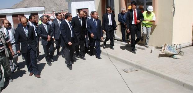 Başbakan Yardımcısı Bekir Bozdağ'dan TİKA'nın Kabil'de Yaptırdığı Sürekli Eğitim Merkezine Ziyaret  - 6
