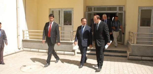 Başbakan Yardımcısı Bekir Bozdağ'dan TİKA'nın Kabil'de Yaptırdığı Sürekli Eğitim Merkezine Ziyaret  - 4