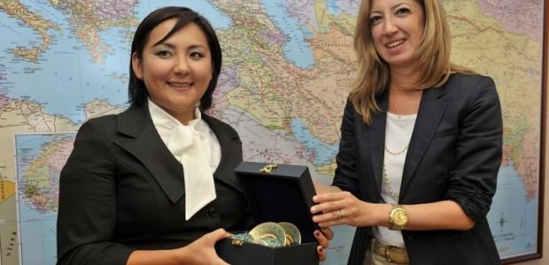 Kırgız Parlamentosu Bürokrat Heyeti TİKA'da  - 5
