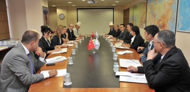Kırgız Parlamentosu Bürokrat Heyeti TİKA'da  - 1