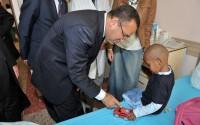 Somalili Yaralılara Bekir Bozdağ'dan Ziyaret