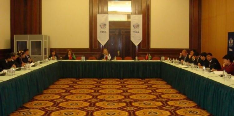 TİKA'dan Türkmenistan'da Mesleki Eğitim Çalıştayı