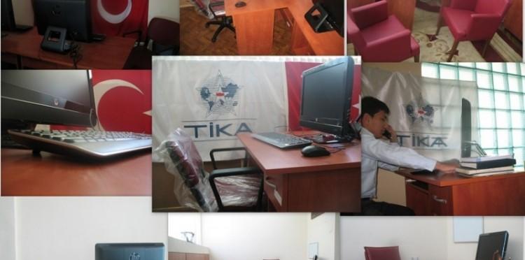 TİKA'dan Tacikistan'da İletişim ve Haberleşme Atılımı