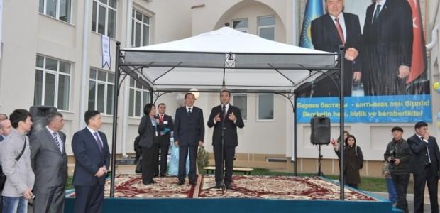 TİKA'dan Kazaksitan'a Dev Yatırım: Kazak-Türk Lisesi  - 1