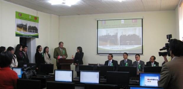 TİKA'dan Moğolistan Tarım Üniversitesi Jeo Enformasyon Laboratuarına Donanım Desteği   - 4