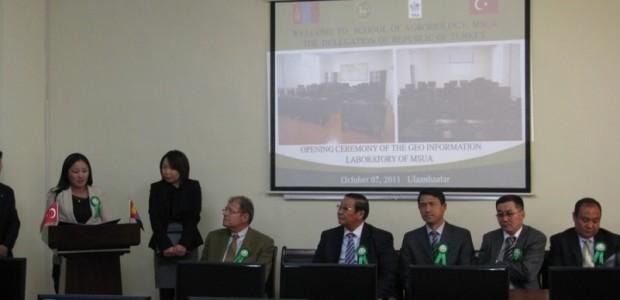 TİKA'dan Moğolistan Tarım Üniversitesi Jeo Enformasyon Laboratuarına Donanım Desteği   - 3