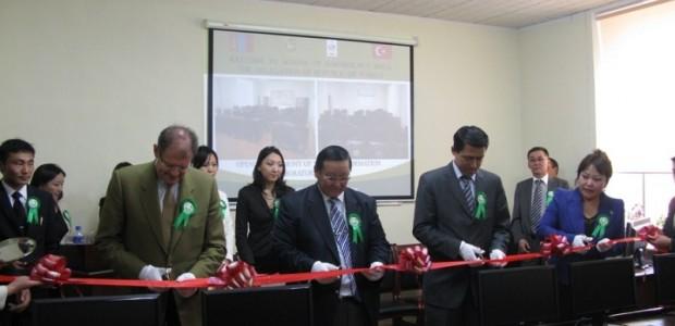TİKA'dan Moğolistan Tarım Üniversitesi Jeo Enformasyon Laboratuarına Donanım Desteği   - 1
