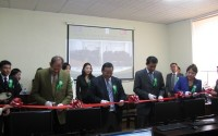 TİKA'dan Moğolistan Tarım Üniversitesi Jeo Enformasyon Laboratuarına Donanım Desteği
