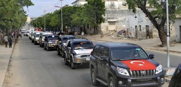 Mogadişu Caddelerinde Türkiye Coşkusu  - 4