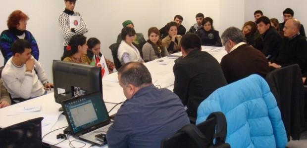 Türkmenistan  Medyasına TİKA'dan Destek  - 11