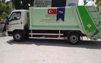Somali'de Çevre Temizliğinin İlk Adımı: Çöp Kamyonları