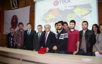 İstanbul Üniversitesi Öğrencilerinden TİKA'ya İlgi