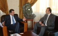 Arnavutluk Cumhuriyeti Çevre, Ormancılık ve Su İşleri Bakanı Fatmir Mediu'dan TİKA'ya Teşekkür