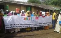 Gine Conakry'de Bulunan Mülteci Kampına TİKA Desteği