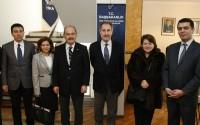 Kültür ve Turizm Bakanı Ertuğrul Günay, TİKA Astana Program Koordinasyon Ofisini Ziyaret Etti