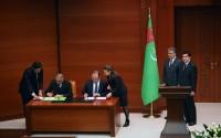 """TİKA ile Türkmenistan Turizm ve Spor Devlet Komitesi Arasında """"Türkmenistan'da Turizmin Geliştirilmesine Yönelik Mesleki Eğitim Programları Düzenlenmesi Projesi"""" Uygulama Protokolü İmzalandı"""