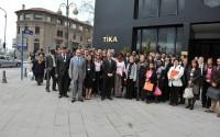 Genç Diplomatlar TİKA'da