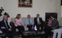 Orman ve Su İşleri Bakanı Veysel Eroğlu Kosova'da TİKA Ofisini Ziyaret Etti