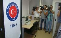 Arnavutluk Resmi Yayınlar Merkezine TİKA'dan Destek