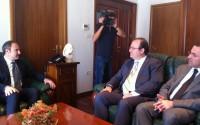 TİKA Başkanı Dr. Serdar Çam Arnavutluk'ta İncelemelerde Bulundu
