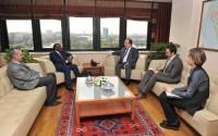 Nijer Devlet, Planlama, Toprak İdaresi ve Toplumsal Kalkınma Bakanı'nda TİKA'ya Ziyaret