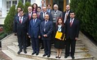 Başbakan Yardımcısı Bekir Bozdağ TİKA Tiran Program Koordinasyon Ofisini Ziyaret Etti
