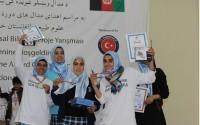 Afganistan'da Bilim Olimpiyatlarına TİKA Desteği