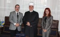 Bosna-Hersek'in Yeni Reis-Ul Uleması Hüseyin Kavazoviç TİKA Heyetını Kabul Etti