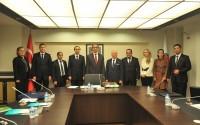 Türkmenistan Turizm Devlet Komitesi Başkanı Palvantaganov TİKA'yı Ziyaret Etti