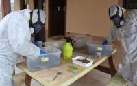"""TİKA Arnavutluk'un İlk """"Orman Zararlıları ile Biyolojik Mücadele Laboratuvarı""""Nı Kurdu"""