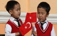 Moğolistanlı ve Moldovalı Çocuklar TİKA Desteğiyle 23 Nisan Uluslararası Çocuk, Eğitim, Bilim ve Eğlence Fuarı'na Katıldı