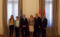 Sırbistan Devlet Başkanı Tomislav Nikoliç, TİKA Heyetini Makamına Davet Etti